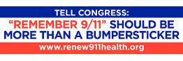 Remember 9/11 should be more than a bumper sticker